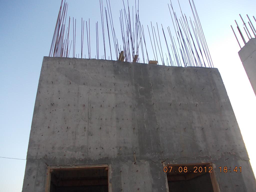 бетонирование лифтовой шахты