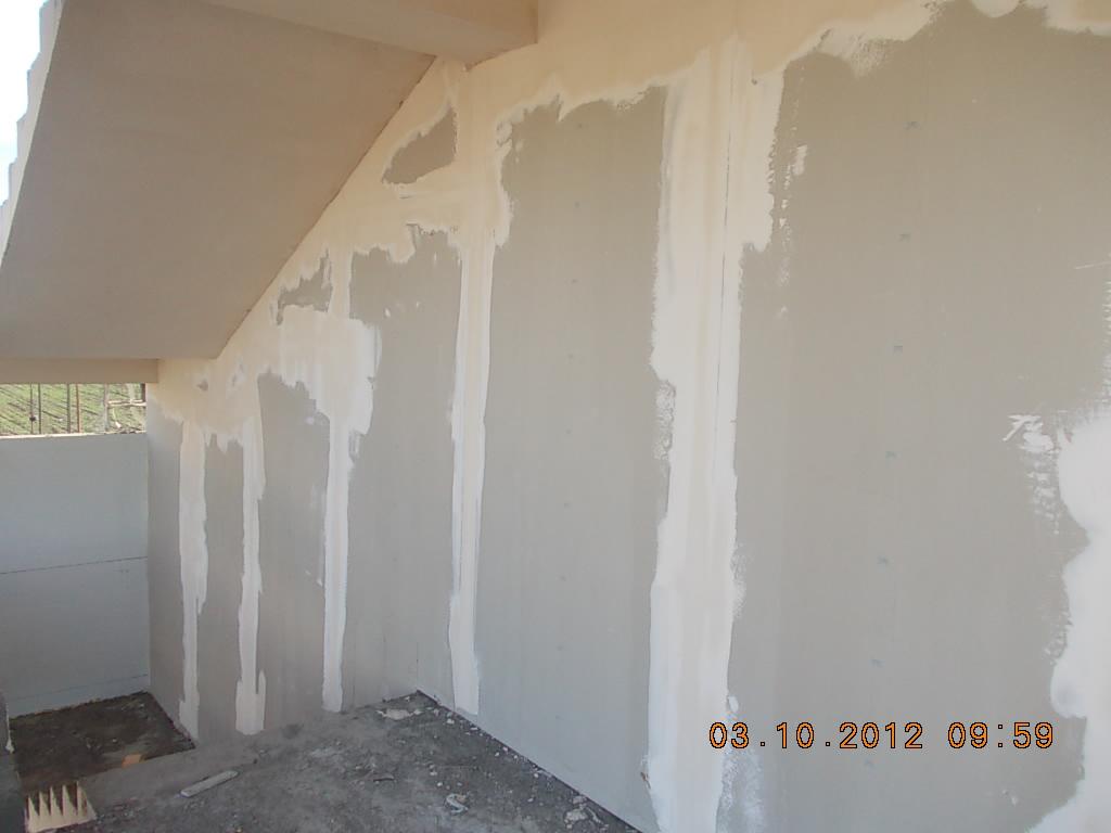 обшивка гипсокартоном кирпичных стен
