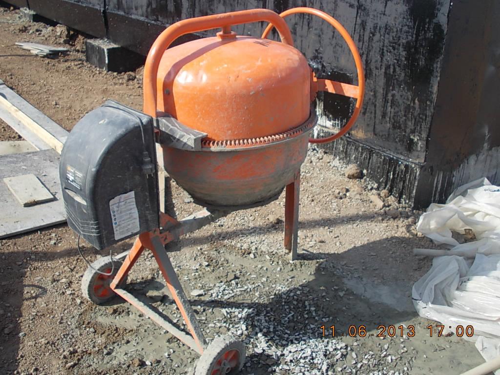 бетономешалка для цементно-песчаного раствора