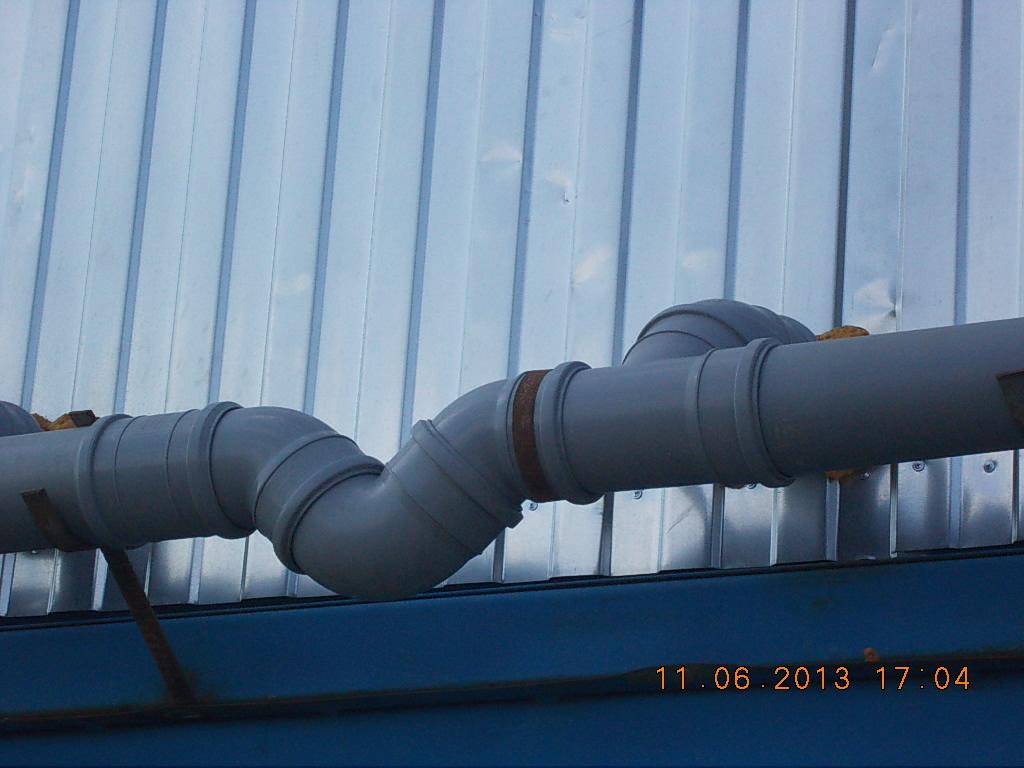 канализационный гидрозатвор (сифон)