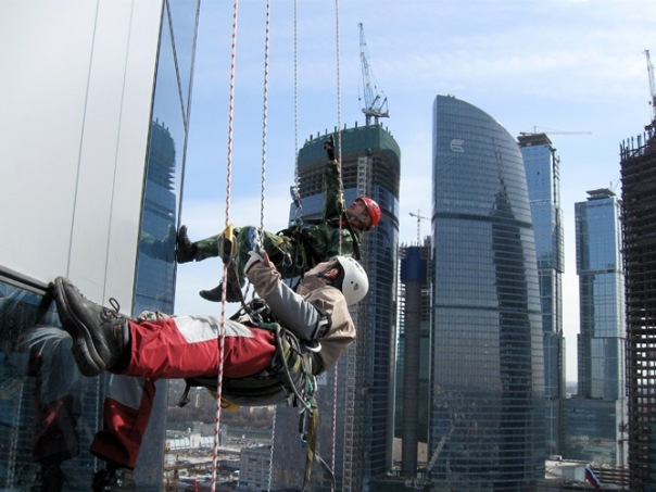ремонт высотных зданий фото