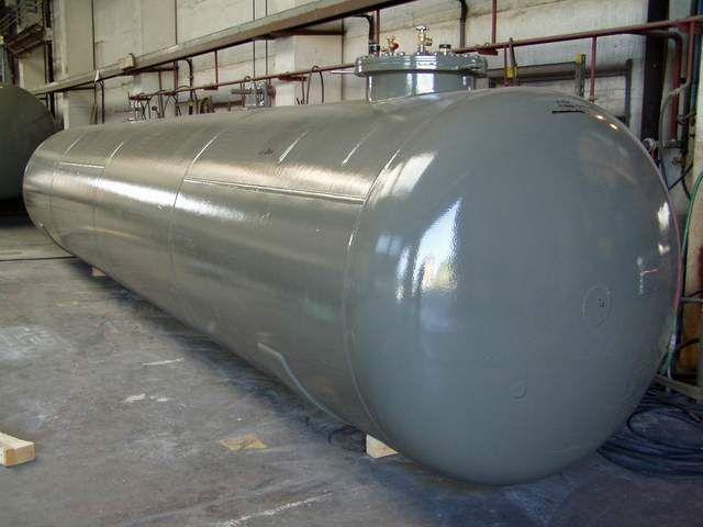 подземный газгольдер фото