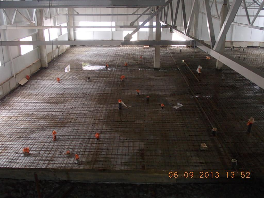 подготовка перед бетонированием